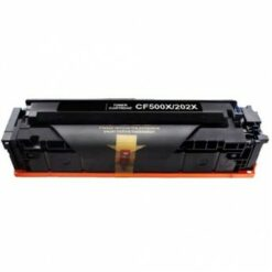 Compatible hp 202x black toner cartridge cf500x (high yield 3,200 pages)