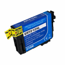 Remanufactured epson 212xl high yield cyan ink cartridge