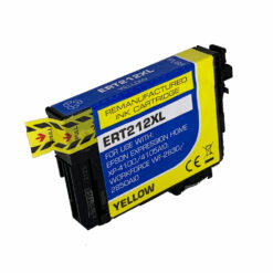 Remanufactured epson 212xl high yield yellow ink cartridge