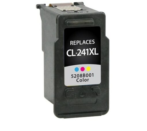 Remanufactured Canon CL-241XL Ink Cartridge Color High-Yield (5208B001)