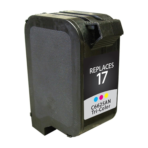 Remanufactured Replacement Tri Color Ink Cartridge For C6625an Hp 17 Swift Ink