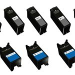 Compatible Replacement for Dell Series 23 High Yield Black & Color 8-Set Ink Cartridges for the V515w Printer