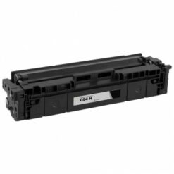 Compatible canon 054h high yield black toner 3028c001, (3,100 page yield)