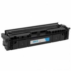 Compatible canon 054h high yield cyan toner 3027c001, (2,300 page yield)