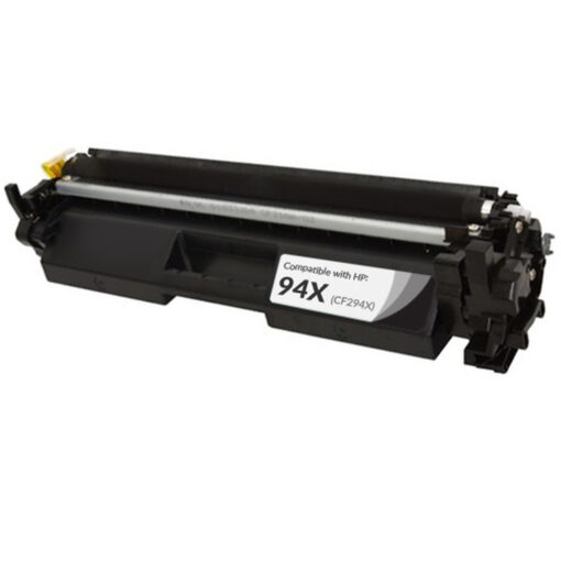 Compatible replacement for hp cf294x (hp 94x) high yield black toner cartridge (2800 page yield)